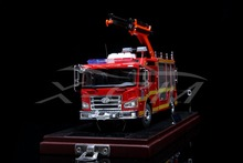 Diecast Car Model Jiefang Fire Rescue Truck 1:43 (Red) + SMALL GIFT!!!!