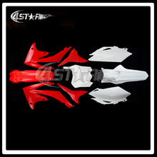 Complete Body Plastics Kits For CRF CRF250R 10-13 CRF450R 09-12 Dirt Pit Bike MX Motocross Enduro Supermoto SM Motorcycle