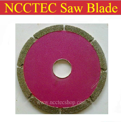 4 Diamond Electroplated saw blade | 95mm cutting disc sheet for cutting marble or other stone which edge is easily broken<br><br>Aliexpress