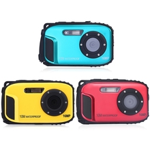 WCM11 10M Waterproof Portable 16MP HD 8X Digital Zoom 1280 * 720 HD Digital Camera