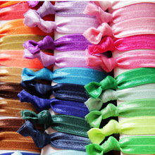 100Pcs/Lot  Elastic Hair Tie Hair Band Pretty Knot Rubber Band Everyday Hair Accessory hair accessories