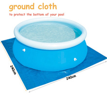 above ground pool ground cloth, pool accessory accessories swimming pool floor cloth ground fabric, for pool 240cm,300cm 360cm