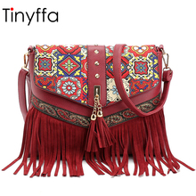 Tinyffa Summer Famous Brands Luxury Handbags Women Bags Designer Leather Shoulder Bag Female Crossbody Messenger Bags Ladies Red