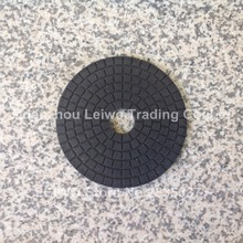 Black Buff 6 inch (150 mm) Buffing Pads for Dark Color Granite Marble Surface Polishing Nylon Cloth Abrasive Disc(China)