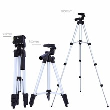 Professional Protable Mini Camera Stand Tripod Clip Bracket Holder Flexible Aluminum Tripod Camera monopod for Canon Nikon Sony(China)