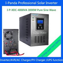 3000w Off-grid solar /wind power inverter with built-inside controller I-P-XDC-4000VA DC48V for home solar generator system