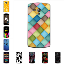 Hard Case for Sony Xperia Neo L MT25i Thin Back Cover UV Painting PC Shield Protective Case for Xperia Neo L MT25i Phone Skin(China)