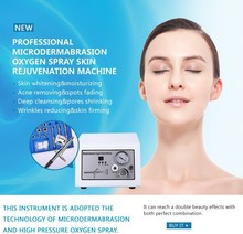Portable household face cleanser water oxygen dermabrasion jet peel machine(China)
