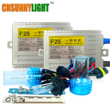 CNSUNNYLIGHT AC 55W 24V Xenon HID Kit For Truck Light Trailer H7 H11 H1 H3 H8 H9 H10 9005 9006 6000K 8000K HID Xenon Light(China)