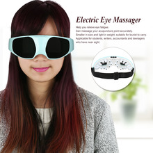 Electric Eye Massager Alleviate Fatigue Inlaid Magnetic Vibration Massage Head Stress Relief Eye Care Machine Tools ST-023