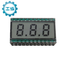 EDS812 3 Digit LCD Display Module Static Driving Metal Pin Connection TN Type Positive Display 5V 30.7*16.2*2.8mm