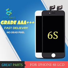 GREAT PARTS 10PCS Grade AAA 4.7 inch LCD For iPhone 6S Display Good 3D Touch Screen With Digitizer Replacement Assembly Parts(China)