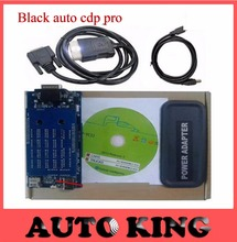 SALE![2015.1 software +free activate] black TCS cdp pro for cars and trucks obd2 scan tool auto obd obd2 scan tool Free DHL ship