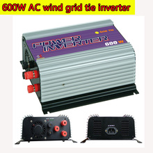 600W Grid Tie Inverter with Dump Load for  3 Phase AC Wind Turbine Generator MPPT Pure Since Wave Wind On Grid Inverter NEW