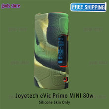 10pcs silicone cover for Joyetech eVic Primo MINI 80W can use 4ml ProCore Aries Tank popular 13 colors Wrap skin