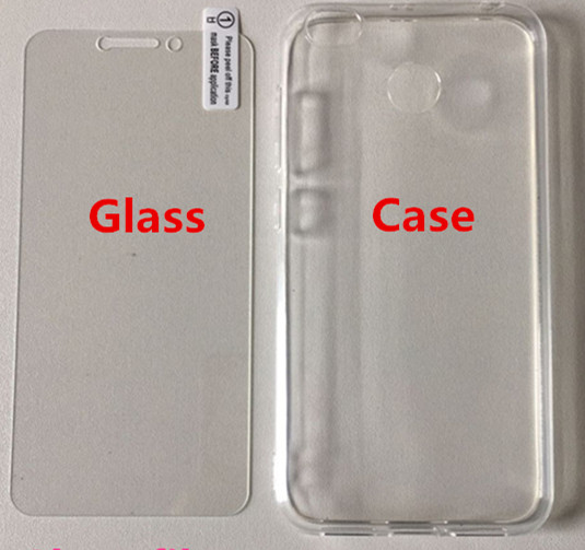 glass and case