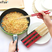 2017 New 1 Pair Bamboo Super Long Chinese Cook Noodles Chopsticks Deep Fried Hot Pot House Restaurant Use(China)