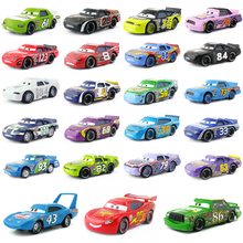 Disney Pixar Cars Racer King Chick Hicks Lightning McQueen No.84 Metal Toy Car 1:55 Birthday Xmas Gift Brand New & Free Shipping(China)