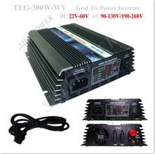 input dc 22-60v 300w grid tied inverter with mppt for household appliance(China)