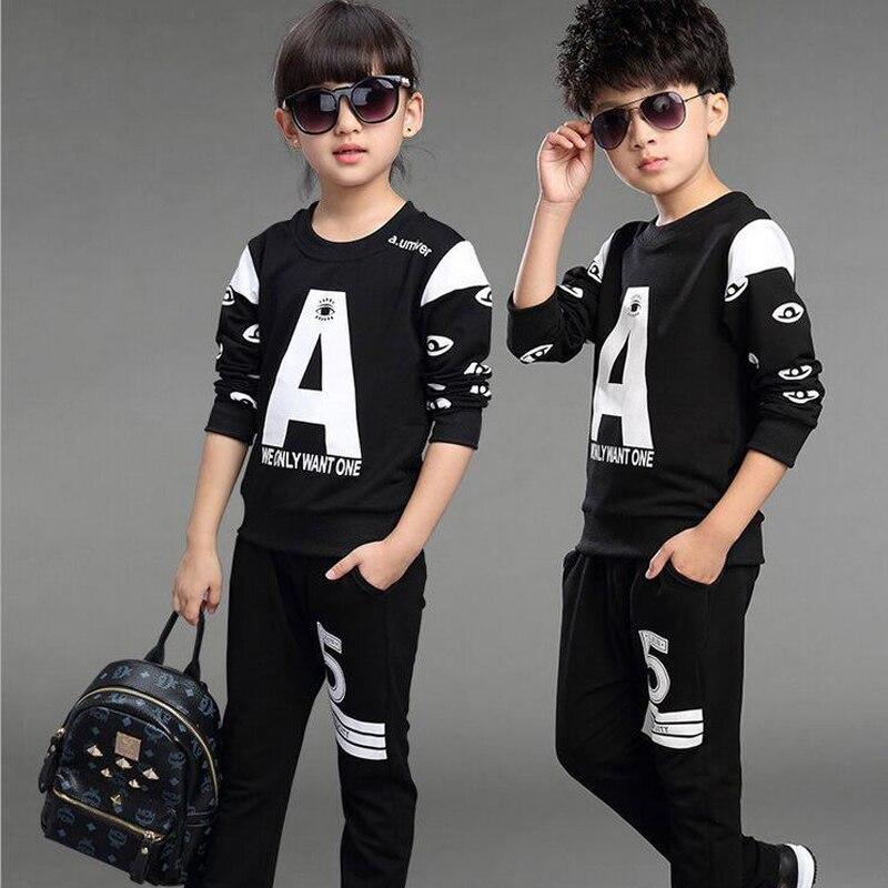 Boys Clothes Set Sport Sweater+ Pants Two-pieces Suit Boy Cotton Long Sleeve Costume Girls Clothes Sets Children Clothing Sets<br><br>Aliexpress