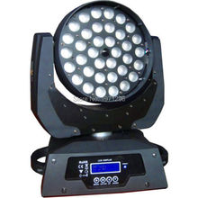 Free shipping 36*15W RGBWA 5 IN1 LED Zoom Moving Head Light 36x15W Zoom LED Moving Head Wash Light
