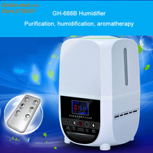 Microcomputer intelligent humidifier aroma purification remote control a key touch ultrasonic humidifier