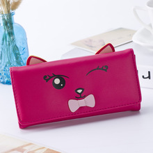 Kagome Fashion Wallet Women Luxury Female Carteira Feminina Wallets Ladies PU Leather Zipper Purse Card Holders Clutch Money Bag(China)