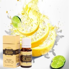 Brand New Essential Oils for Aromatherapy Spa Bath Massage Skin Care Lemon essential oil 10ml moisturizing whitening