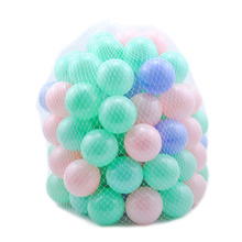100pcs Ocean Ball Soft Toy Ball for the Pool Ocean Wave Ball Pits Water Pool Balls Baby Funny Toys Outdoor Fun Sports Play Toys(China)