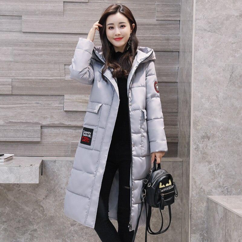 New 2017 winter woman cotton long basic jacket women hooded fashion brand casaco coat warm manteau hiver slim fit coats&amp;jacketsÎäåæäà è àêñåññóàðû<br><br>