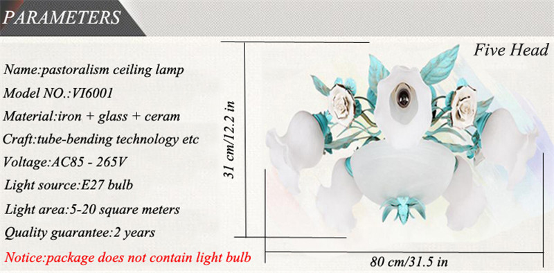 Ceramic ceiling light (16)