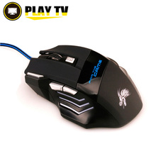 Professional 5500 DPI wired Gamer Mouse 7 Buttons LED Optical USB Wired Mice for Pro Gamer Computer PC  mouse 5500