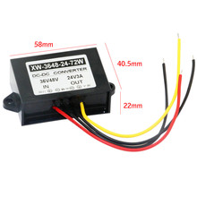 DC Adapter DC 48V To 24V 3A 72W Power Supply Converter Step Down Regulator Module Power Inverter For Fans DVD(China)