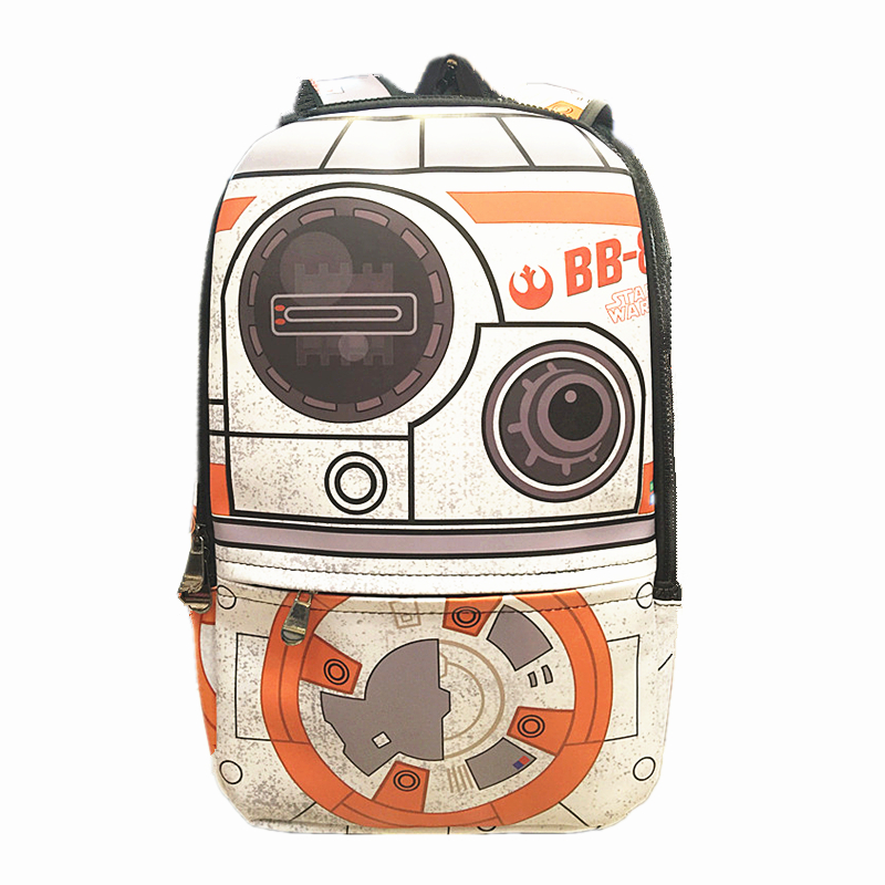 Star Wars BB-8 Laptop Backpacks Mochila Masculina Bagpack Men Travel Bag Packsack Bolsa School Bags Backpack<br>