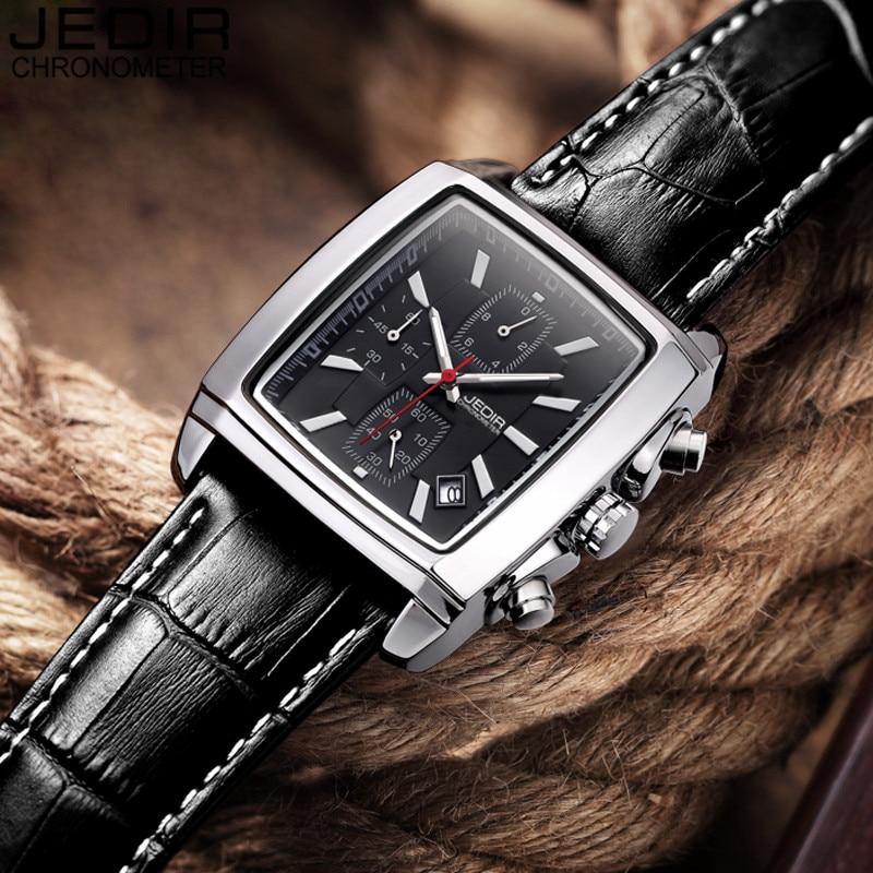 JEDIR Mens Watches Top Brand Luxury Men Military Sport Luminous Wristwatch Chronograph Leather Quartz Watch relogio masculino<br><br>Aliexpress