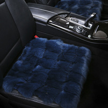 Winter fox fur car seat cover / wool short plush car seat cushion for opel Vectra Omega zafira Volkswagen passat polo Auto Parts