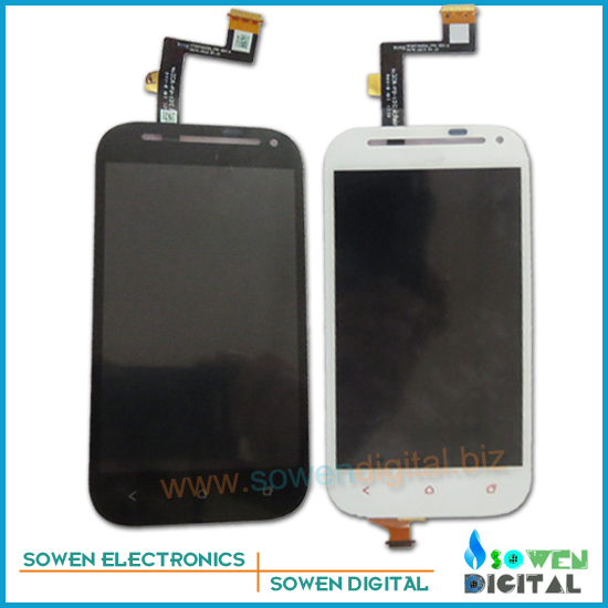 for HTC One SV LCD display screen with touch screen digitizer assembly full set,, Black or White<br><br>Aliexpress