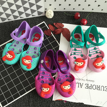Princess Mermaid Sandals Jelly Girls Toddler Little Kids Shoes Baby Girl Sandals Toddler Girl Sandals High Quality