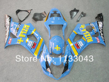 Injection For SUZUKI GSX-R1000 light Blue K3 03 04 GSX R1000 K3 GSXR 1000 2003 2004 GSXR1000 Fairing Kit