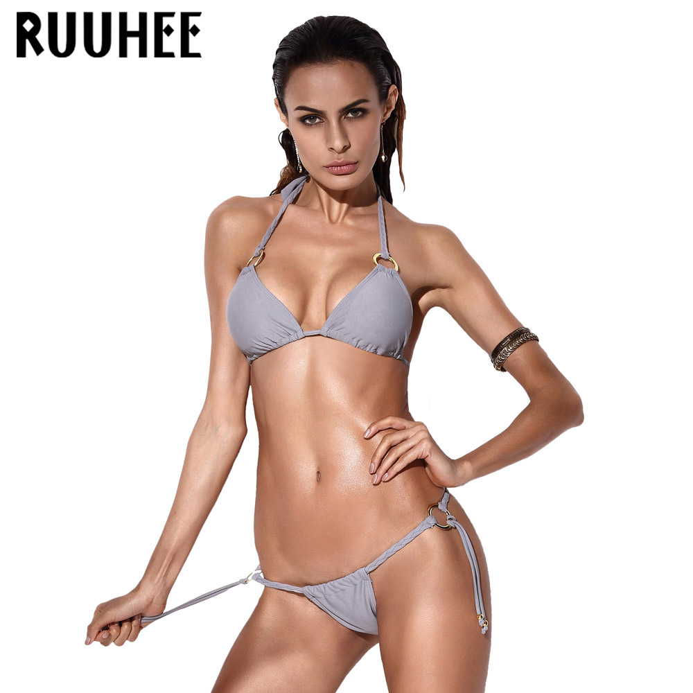 Sexy Bikini Swimwear Swimsuit Women Bikini Set Biquini Push up Bandage Bathing Suit Maillot De Bain Femme Beach Swim Suit 2017<br><br>Aliexpress
