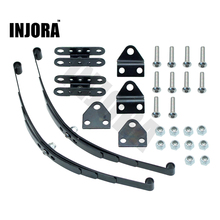 INJORA Hard Leaf Spring Suspension Steel Bar for 1:10 RC Rock Crawler RC4WD D90 Axial SCX10 F350