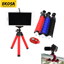 EKOSA Ahtapot Tripod For Phone Camera tripode para movil sponge telefon mini tripods flexible monopod gorillapod octopus tripod