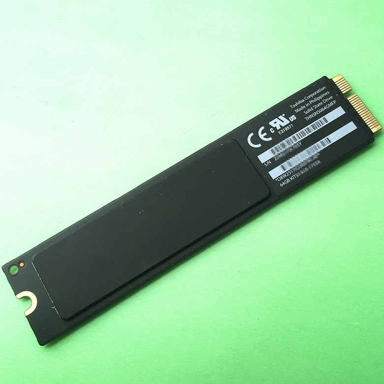 2012year origina A1465 A1466 64GB SSD Solid State Drive For MacBook Air MD223 MD224 MD231 MD232(China (Mainland))