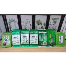 7 Different Flavors  Green Tea including,  Xinyang Maojian.  Laoshan Tea. Rizhao Tea.Biluochun. Maofeng  ,14 pcs Total 70g