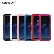 XBERSTAR IP68 Waterproof Shockproof Dust proof Mobile Phone Case for Samsung Galaxy S8 / S8 PLUS