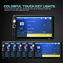 7'' HD Bluetooth Touch Screen Car Stereo Radio 2 DIN FM/MP5/MP3/USB/AUX + Camera P30 Support Drop Shipping August 11(China)