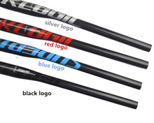 SUPERLOGIC full carbon fiber bicyle handlebar mountain bike MTB bars 31.8*580/740mm ultra long manillar fixie bicycle parts(China)
