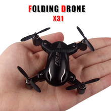 Mini X31 folding helicopter  2.4G 4 channel new 6 axis gyroscope system 3D flip one button return mode  compact  easy to carry