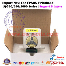 4X Import New For EPSON LQ-590 LQ690 LQ-2090 LQ 590 690 2090 LQ2090 Printhead Printer head OEM#: 1279490 Printer parts