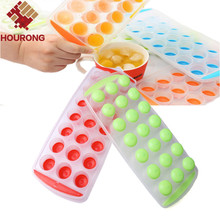 Hourong 2016 New 1 Pc 21 Balls Dots Ice Mold  Ice Cube Tray Ice-making Box Mold For Bar Party Kitchen Cooking Tool